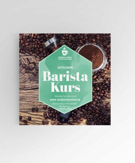 Barista-Kurs-Gutschein